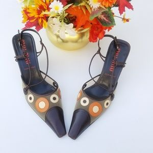 MIU MIU HIGH HEELS SZ.10 (40)